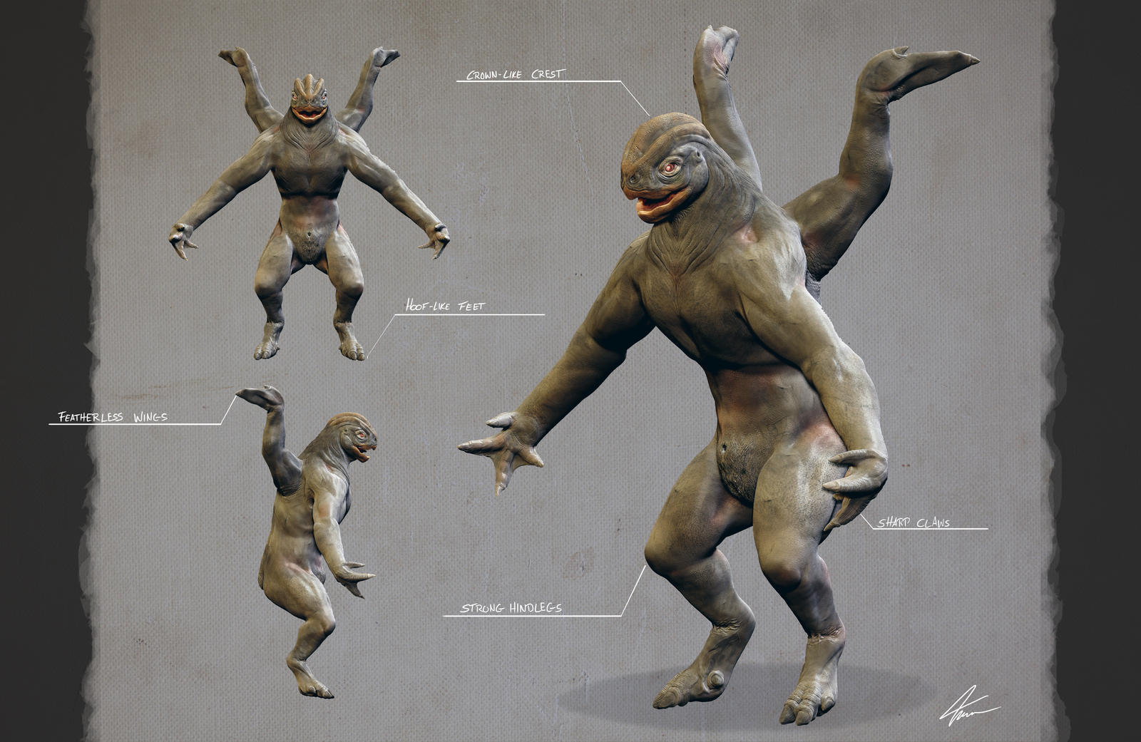 Machamp #068 - Realistic Pokemon 3D by TinoWalter on ...