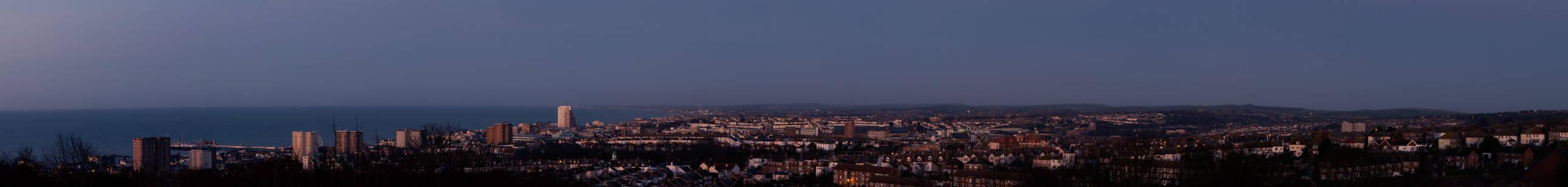 Brighton AM panorama