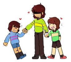 My Clone, My Clone, And Me by Godbear999