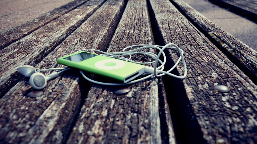 old iPod by DejanB