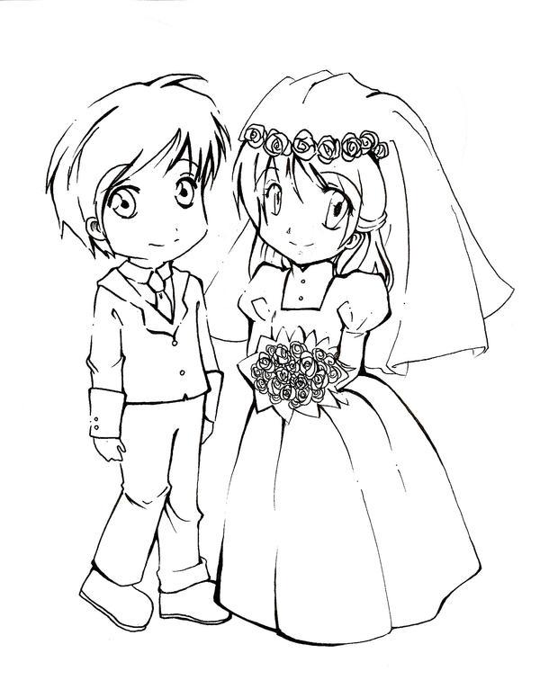 Chibi Wedding By Chus2 On Deviantart