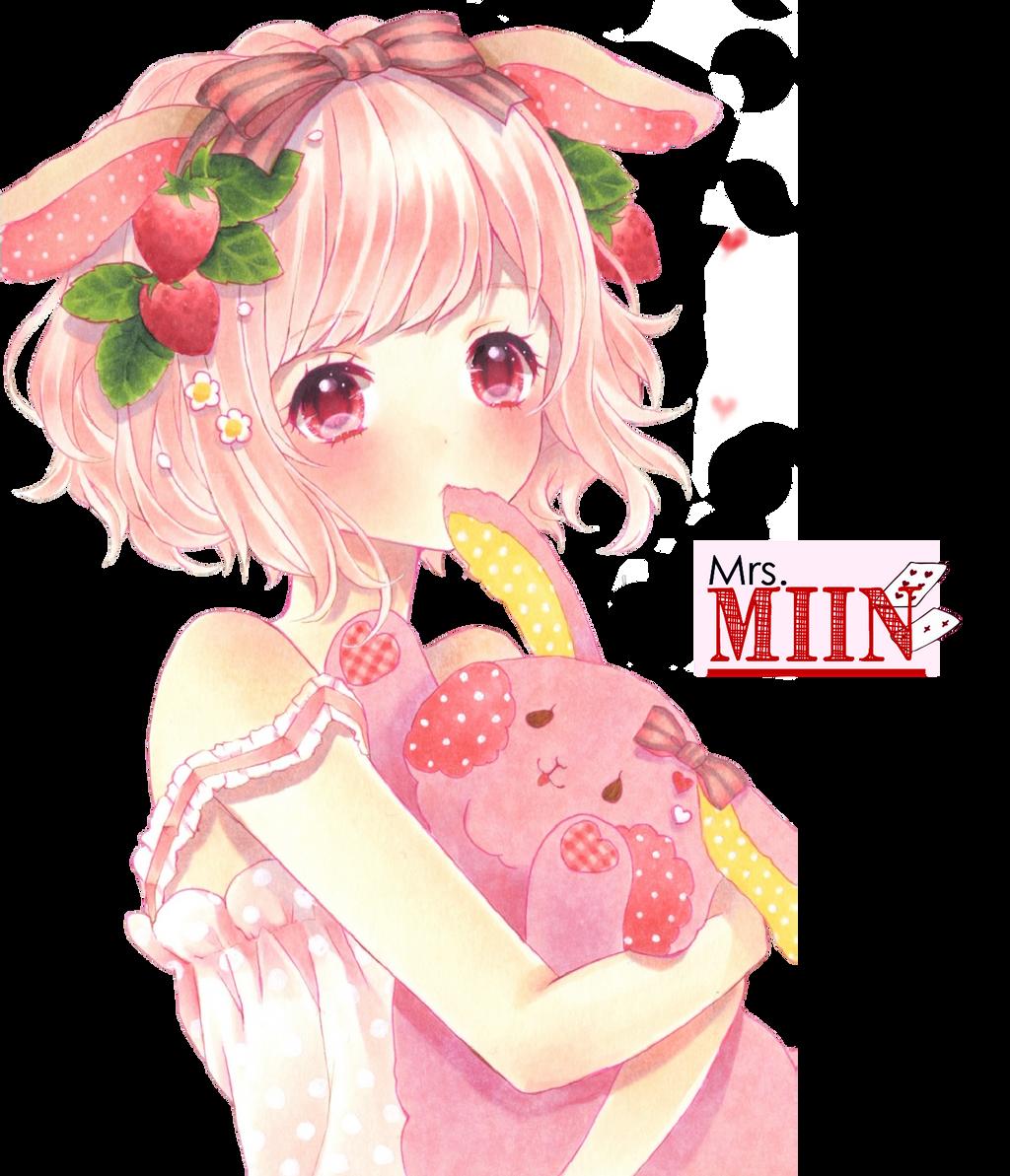 Render Pink Girl By Miinjae On Deviantart