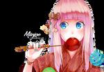 Render: Hanabi - Luka Megurine (Vocaloid)