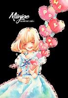 Render: Happy Birthday by MiinJae
