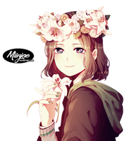 Render: Flower by MiinJae