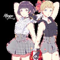 Render: Two girls by MiinJae