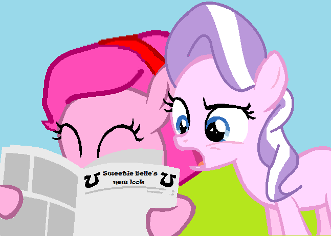 mlp_diamond_tiara_finds_out_by_appimena-