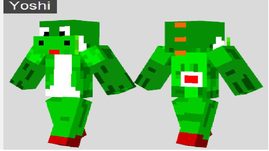 Minecraft Spielen Deutsch Yoshi Skin Fr Minecraft Pe Bild - Skin para minecraft pe de apixelados