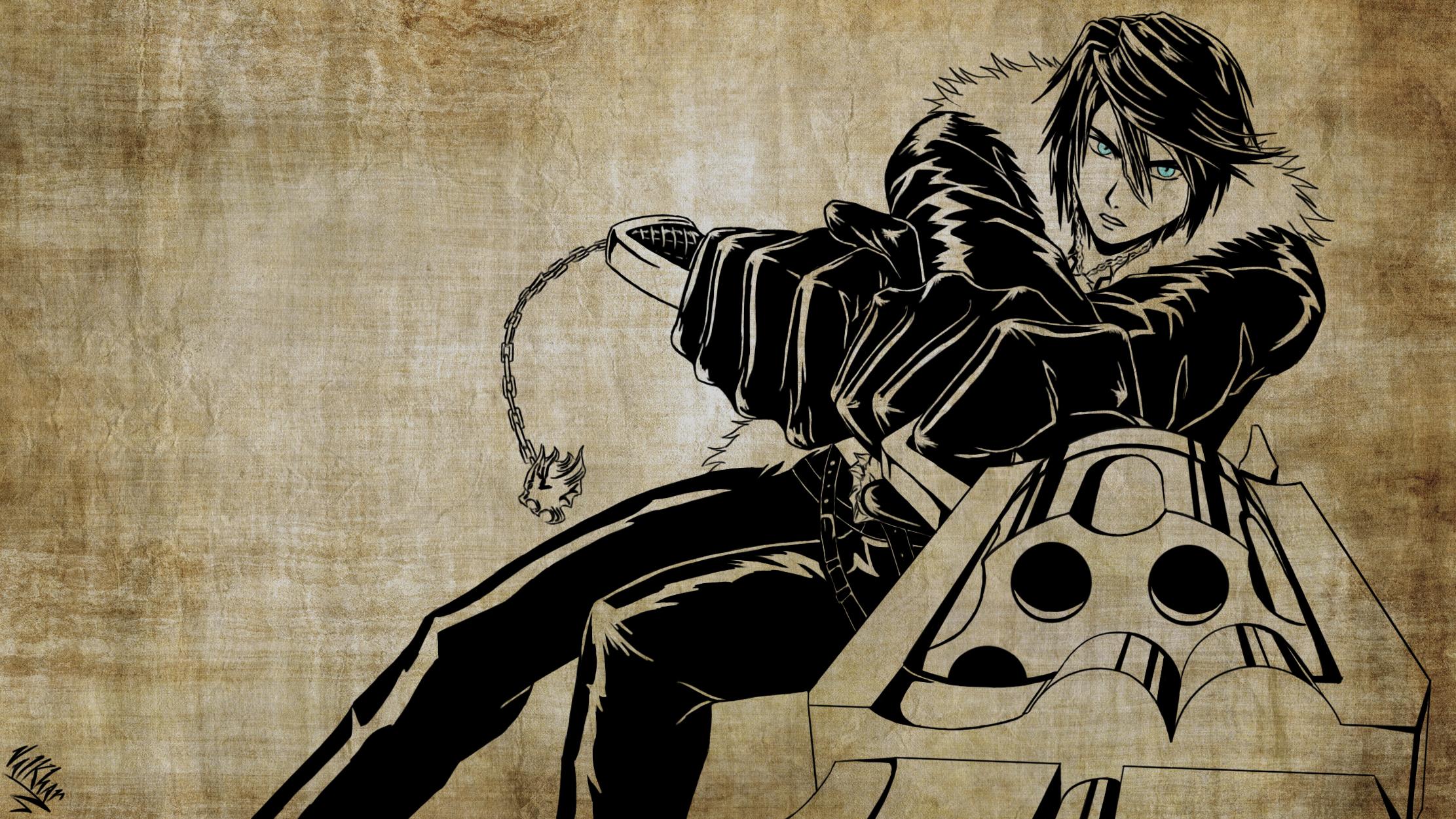 Final Fantasy VIII By Valkhar On DeviantArt