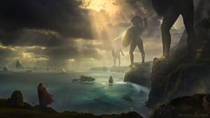 Epic Landscape - Photoshop Art