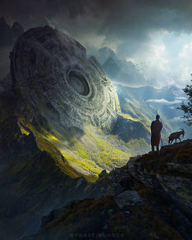 Ancient Discovery - Photoshop Art