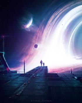 Black Hole - Photoshop Art