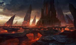 Dark Tower - Photoshop Art
