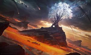 Immortal Tree - Photoshop Art