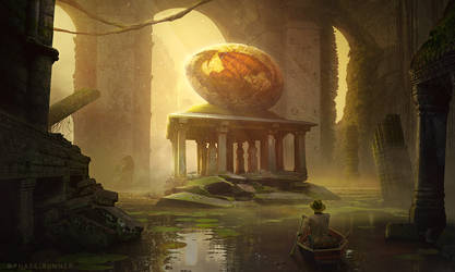 Dragon Egg - Photoshop Art