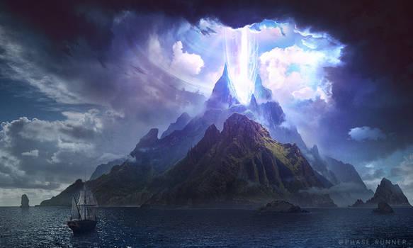 The Island - Photoshop Art