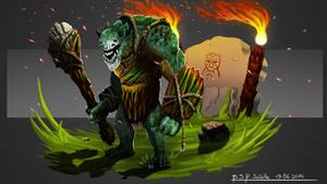 Troll Warrior by Patagonian1991