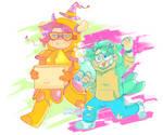BEST BUDDIES :) by gaycrystal