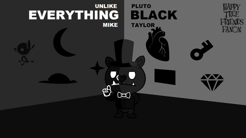 HTFF Release: Everything Black by BlueTide1410