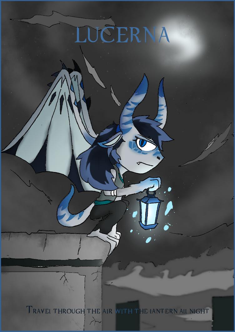 OC release: Lucerna, the Soaring Lantern by BlueTide1410