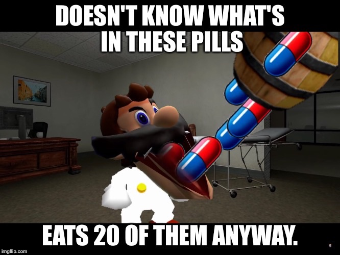 Smg4 An Overdose Of Dr Mario Meme By Wcher999 On Deviantart