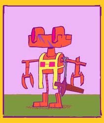 crusader by atoji