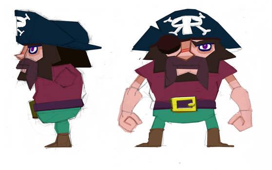 pirates - captain beard by atoji