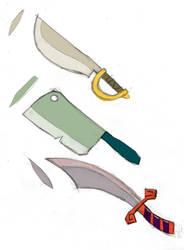 some pirate swords by atoji
