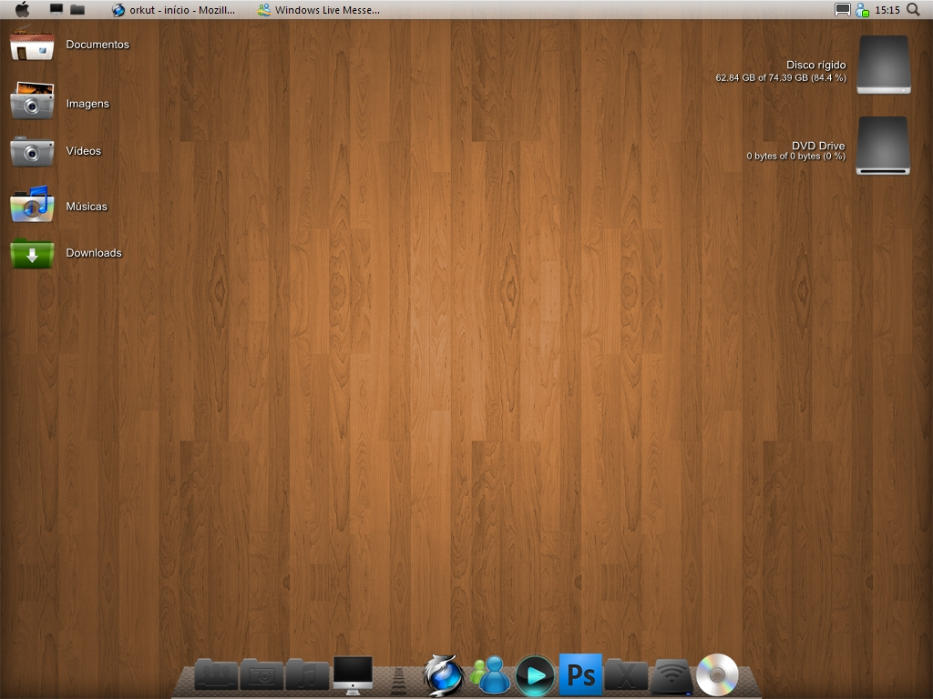 Mac OS X Wood by feliipetaumaturgo