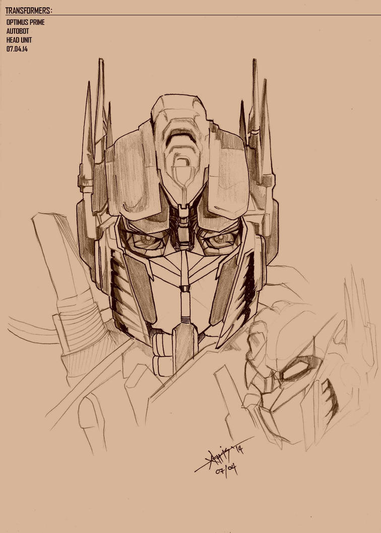 optimus prime by irvinesid