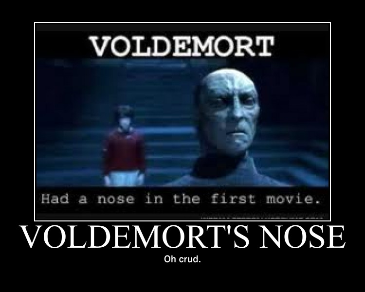 Voldemorts Nose by EPICxFAIL9000 on DeviantArt
