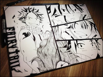 Natsu Dragneel by MystiqueCabare