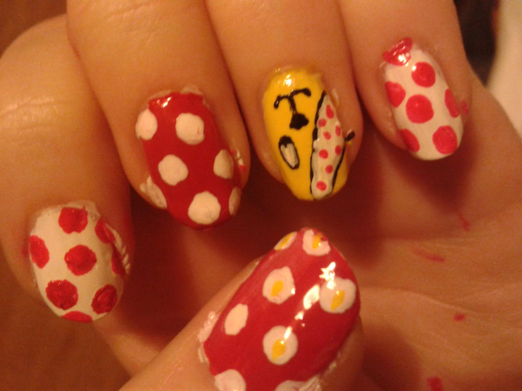 Children In Need Nails Pudsey By Taralr On Deviantart