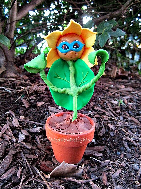 Superhero Flower by MeadowDelights