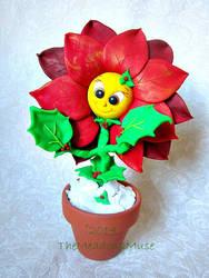 Polly the Poinsettia! by MyArtsDelight