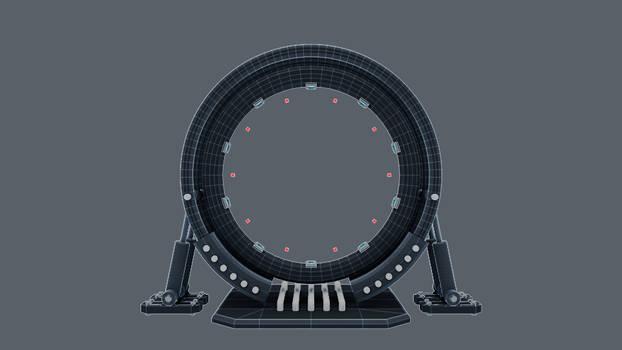 Portal: front view