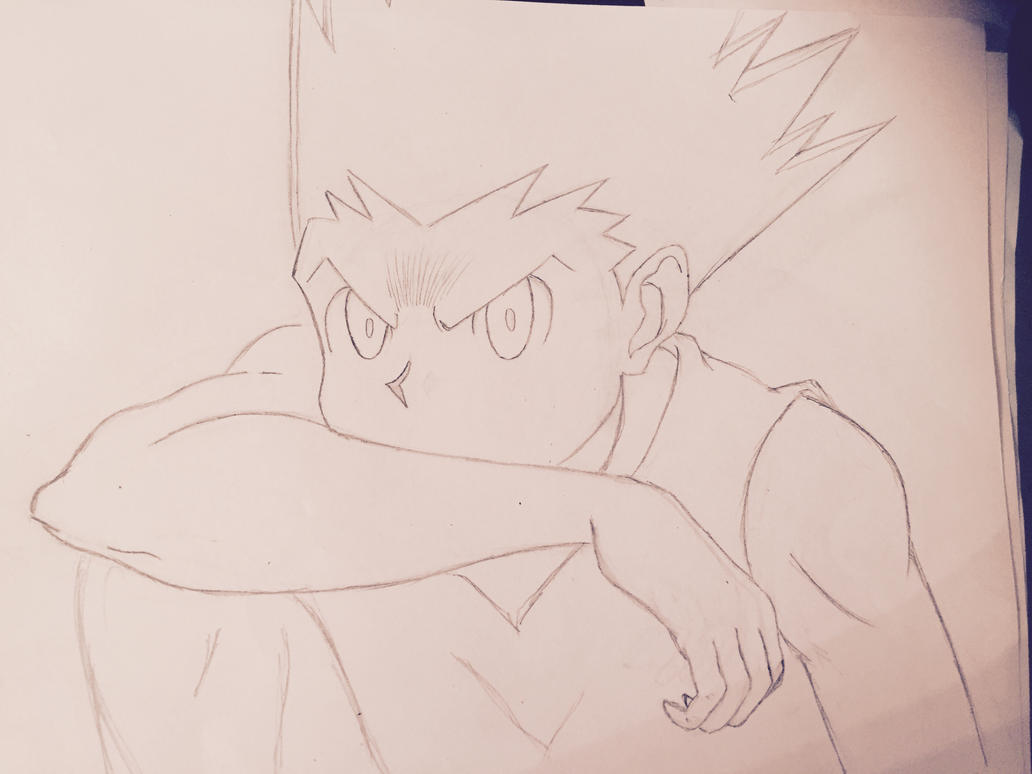 Line Drawing Face : Line drawing of gon freecs by jamestran on deviantart