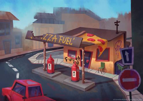 Pizza fuel