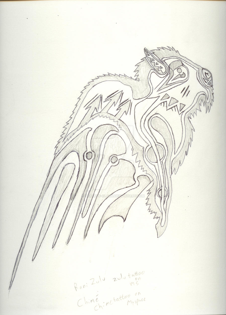 Air Bison Tattoo WIP by Sparkus-Clark
