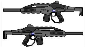 NeoSCAR-20 5.56mm ChemGauss AR (Remake)