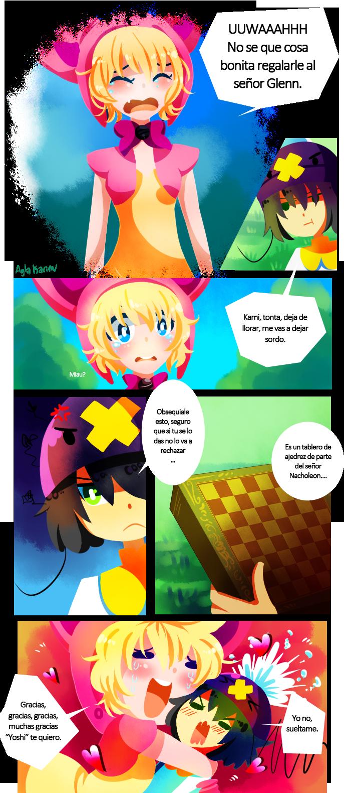 Tarea para ayudar a Kami by Garkarios