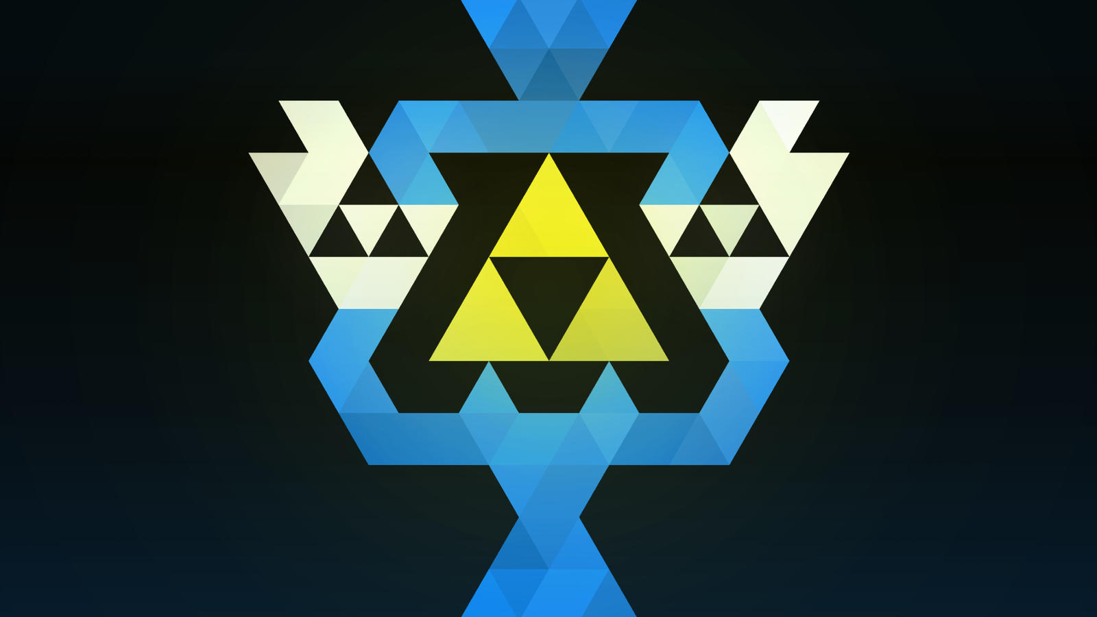 The Legend Of Zelda Triforce Wallpaper By Happywhite On Deviantart