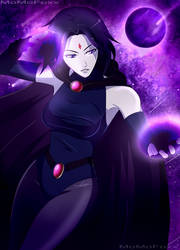 Teen Titans: Raven by MoMoFoxx