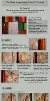 Using Colour Pencils -TUTORIAL by A-Xofia