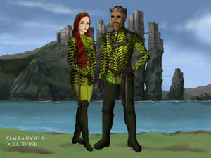 King Arthur I Curry and Queen Mera Cury