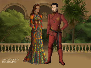 Prince Barry Allen and Princess Iris West-Allen