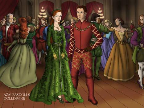 Prince Don Allen and Princess Atlanna Curry