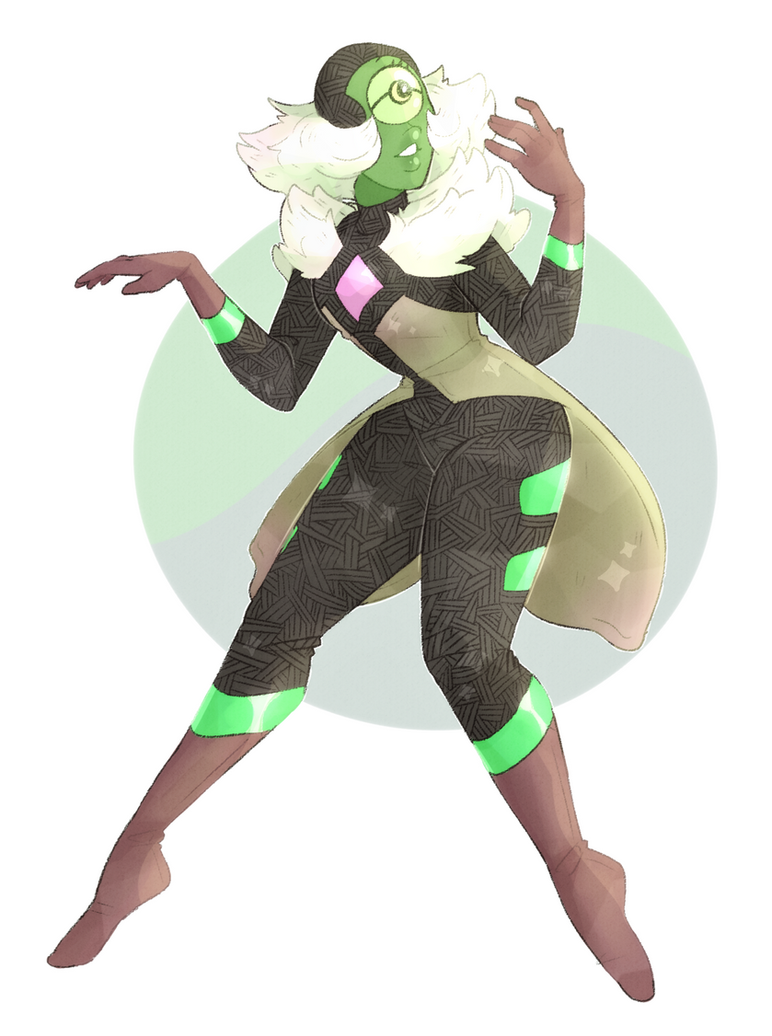 i know everyone is raging about white diamond, but when i first saw centipeetle uncorrupted for a few i fell in love ;; Steven Universe belongs to Rebecca Sugar