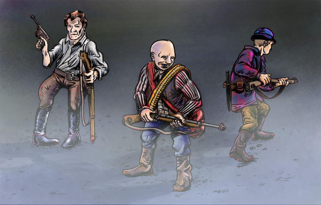Three geezers. by nzCrow