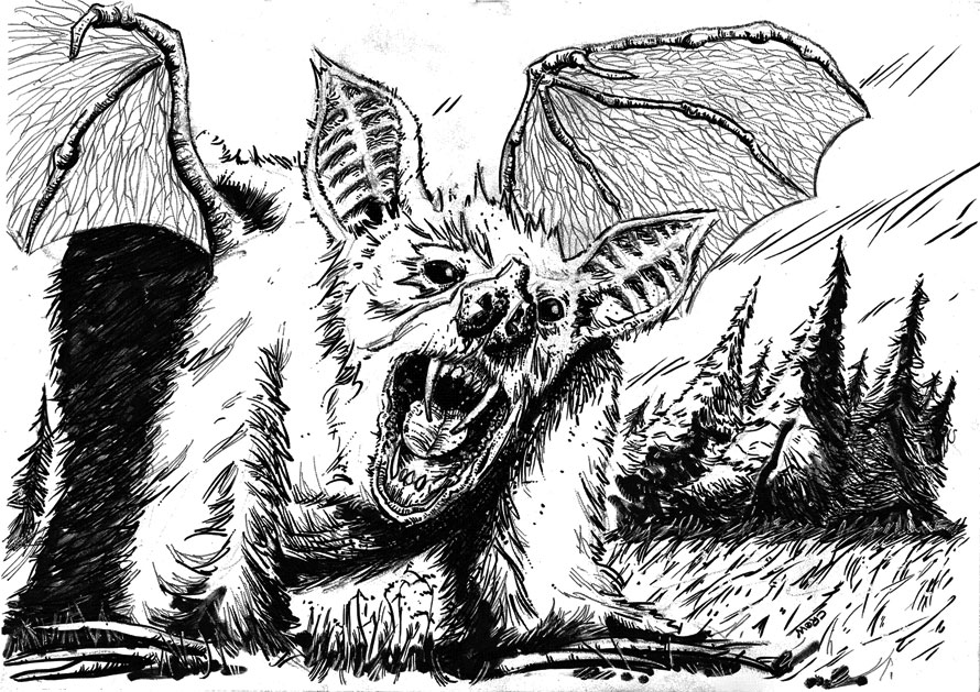 Vampbear by nzCrow